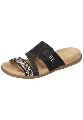 Rieker Pantoletten Schlappen Sandalen Damen Schuhe Gr.36 42