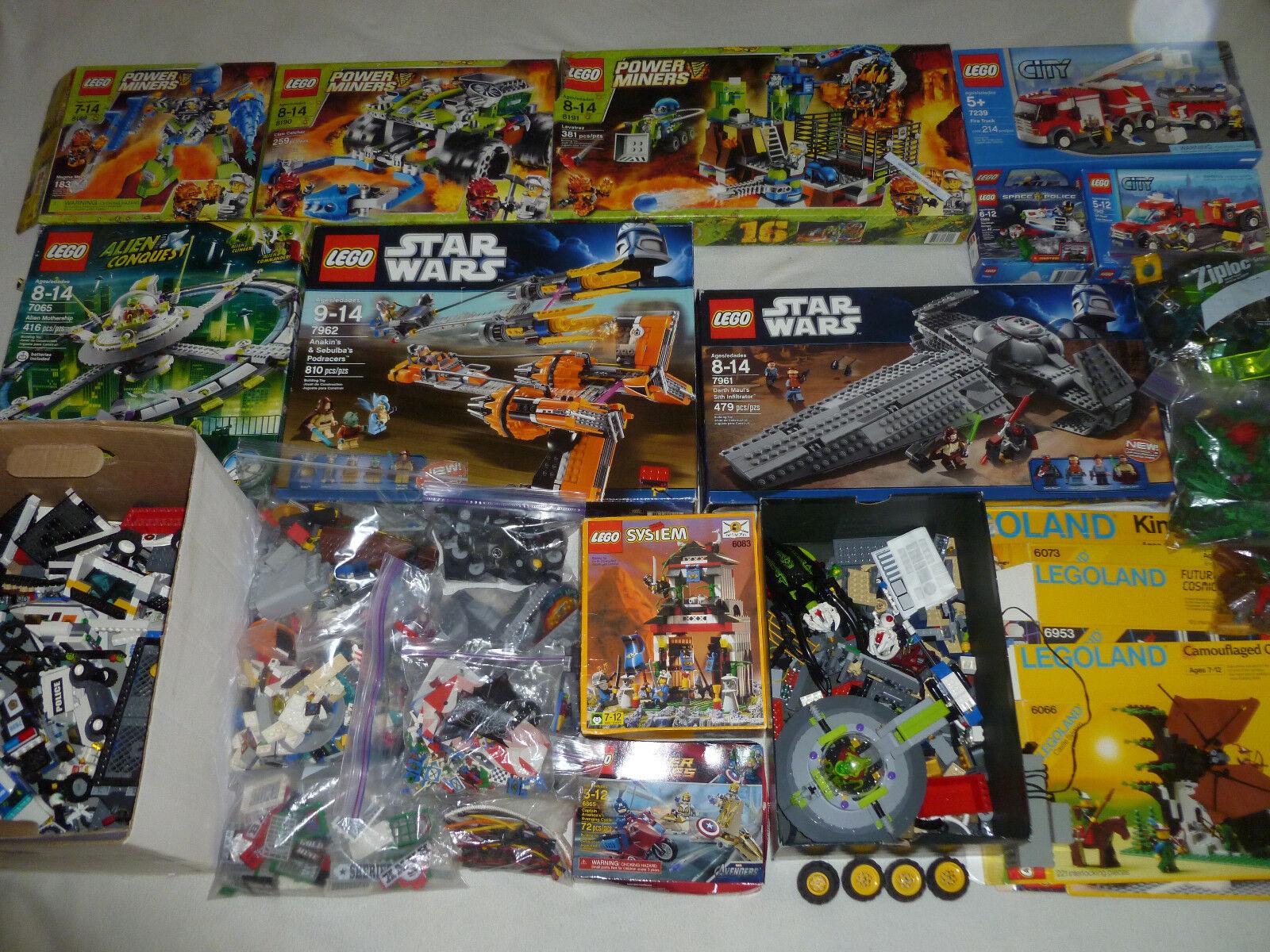 HUGE LEGO LOT 7239 8190 8189 8189 8189 81917961 6083 7962 6080 STAR WARS MINIFIG 6953 6073 1ed35c