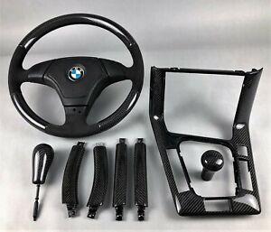 BMW-E36-LIMO-TOURING-PERFORMANCE-CARBON-INTERIOR-TRIM-KIT-LENKRAD-STEERING-WHEEL