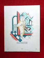 Styl 1923, mode prospetto 4 DA LIBRETTO 3 di Kurt W. Kabisch (ORIGINALE!)