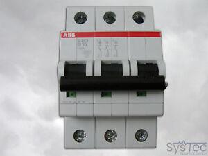 3-polig 16A Sicherungsautomat Leitungsschutzschalter ABB S203-B16