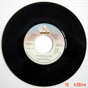 1980-039-S-45-R-P-M-RECORD-THE-ELEVATORS-LIE-DETECTOR-STICKBALL-KIDS