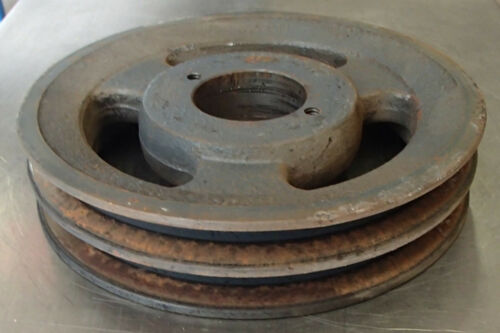 "2-Groove Pulley 6 1//4/"" O.D Brown 1 9//16/"" Bore Used"