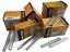 Graffette-Punti-Metallici-Per-Graffettatrice-ad-Aria-Compressa-varie-misure miniatura 1