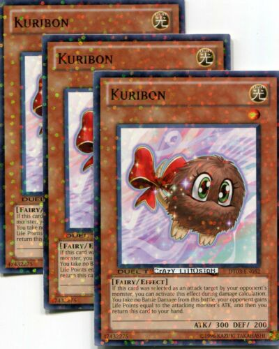 3  X YU-GI-OH KURIBON DUEL TERMINAL COMMON MINT DT03-EN052