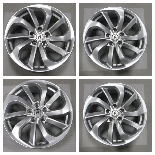 "ACURA RDX 18"" WHEELS RIMS SET OEM ORIGINAL FACTORY 2016"