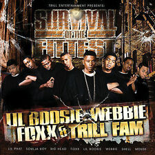 FREE US SHIP. on ANY 2 CDs! NEW CD Lil Boosie, Webbie, Foxx, Trill : Survival of