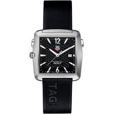 "Tag heuer ""golf watch, tiger woods edition"" in titanium 