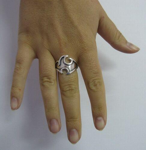 Sterling Silver Ring estampillé Solid 925 Taille 4-12 NEUF une qualité parfaite EMPRESS