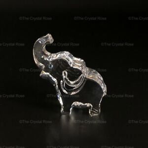 RARE-Retired-Swarovski-Crystal-Ernie-the-Elephant-Clear-665041-Mint-Boxed