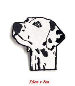 Dalmatien-Chien-Mignon-Animal-Chien-Brode-Repasser-Patch-a-Coudre-824