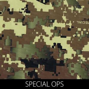 Special Ops digital camo Hydrographic Film dip stick hydro hunting gun