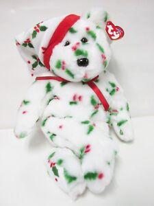 426f2812eec Ty-Beanie Buddy 1998 Holiday Teddy Bear PRISTINE CLEAN   Brand New ...