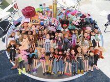 Bratz lot of Dolls Accessories Shoes Clothes Huge Lot 47 Dolls Baby Bratz