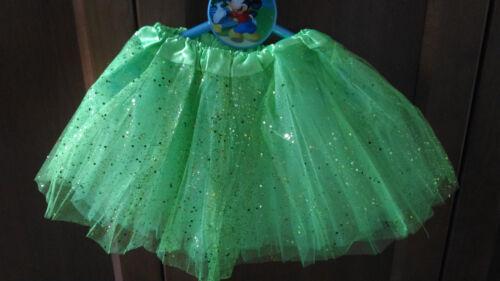 Tutu elastico brillante Verde para niñas fiesta disfraz Ballet danza 22-36 cms