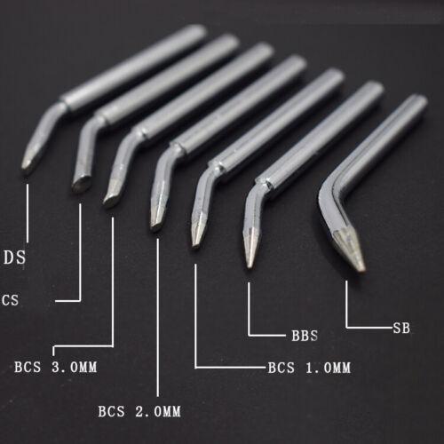 6PCS Lead-free Solder Iron Tip Oxygen-free Copper 60W Soldering Gun Head Sting