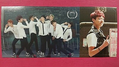BTS JUNGKOOK #1 Official Photo Card 2nd Mini Album Skool Luv Affair Photocard