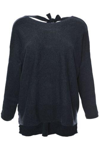 Only Pullover Damen Langarm Feinstrick Fledermausärmel
