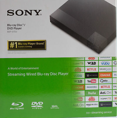 Sony BDP-S1700 Streaming Blu-ray Disc Player 1080P Black LIKE NEW™