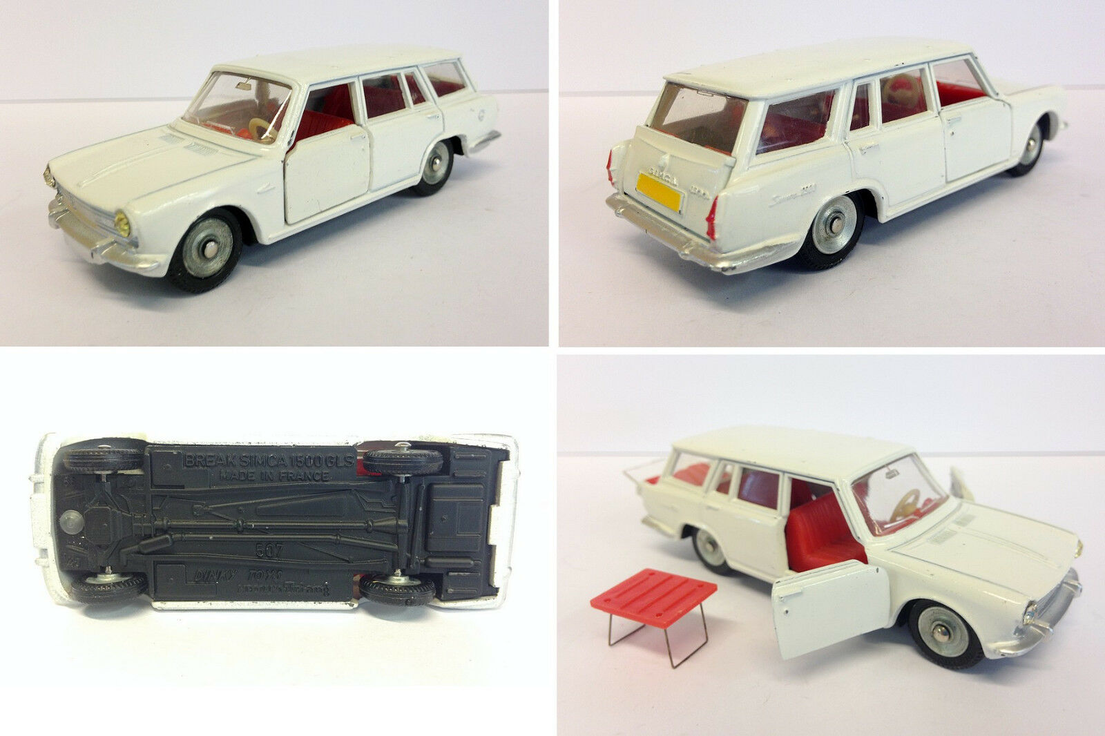 Dinky 507 Simca 1500 break - Scala 1/43