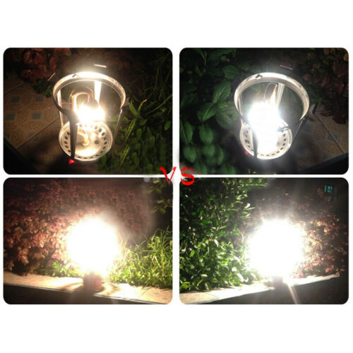New 10 Pcs Camping Gas Lamp Lantern Mantles Light Replacement Cover Outdoor Prop