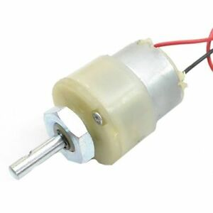 12v dc gear, geared motor 2000 rpm with clamp