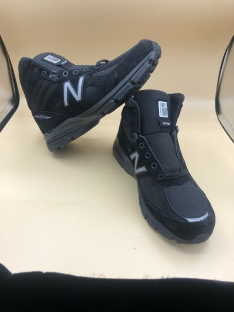 New Balance 990v4 Trail Running Shoes Made in USA Mens Size 10 Black M0990BK4