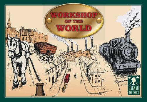 WORKSHOP OF THE WORLD - BRITISH RAILWAYS BOARD GAME - RAGNAR BredHERS