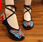 Chinese-Embroidered-Floral-Shoes-Women-Ballerina-Flat-Ballet-Cotton-Loafer-snug thumbnail 4
