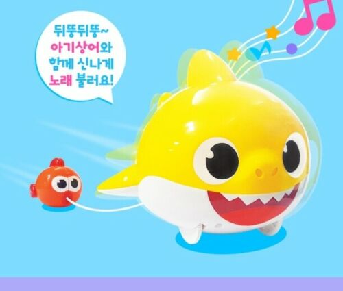 Pinkfong Melody Baby Shark Play Toy Toddle Around Doll 6 Korean Songs