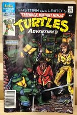 Teenage Mutant Ninja Turtles Adventures 1 CGC 9.8 Sketch by Eastman 1988