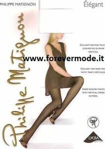 Collant-donna-Matignon-velato-con-motivo-fantasia-a-righe-verticali-art-Elegant
