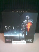 BATTLEFIELD 3 CALIBUR 11 CASE VAULT COVER CASE - SONY PS3 SLIM - NUOVO NEW
