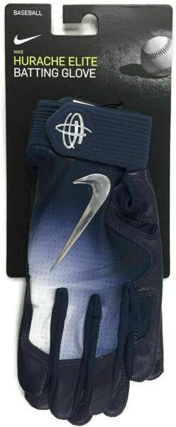 NEW Nike Huarache XXL Elite Batting Gloves Text Palm Men's White ...
