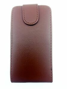 BROWN-FLIP-LEATHER-PHONE-CASE-WITH-CARD-SLOT-FOR-SAMSUNG-GALAXY-S2-i9100-UK-SELL