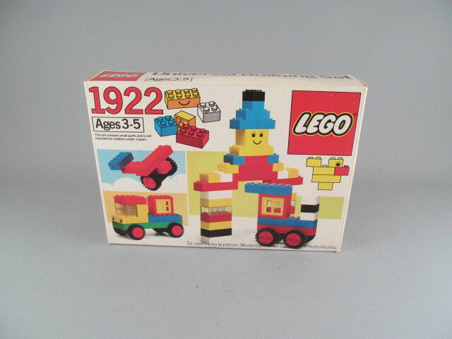 Vintage 1983 Lego Universal Building Set Sealed Parts