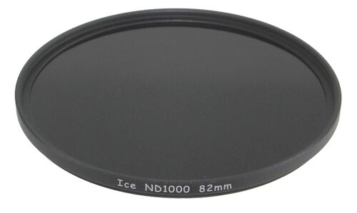 ICE 82mm ND1000 Filter Neutral Density ND 1000 82 10 Stop Optical Glass NEW