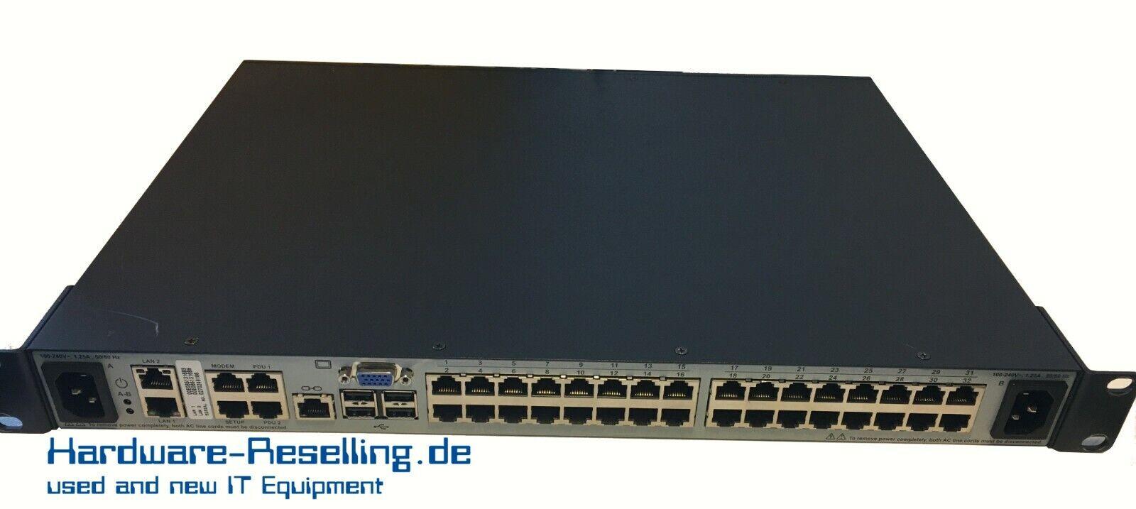 Avocent Mergepoint Unity 4032 MPU4032 32- Port Kvm-Switch SUN Oracle 371-4779-01