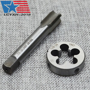 """New HSS  5//8/""""-24 UNEF Right Hand Tap and Threading Die set 5//8x24 US Seller"""