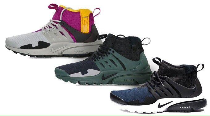 Nike Lab : Presto Mid utilidad Sp/Air : Lab nos 9 AA0868003US9 dbe24d