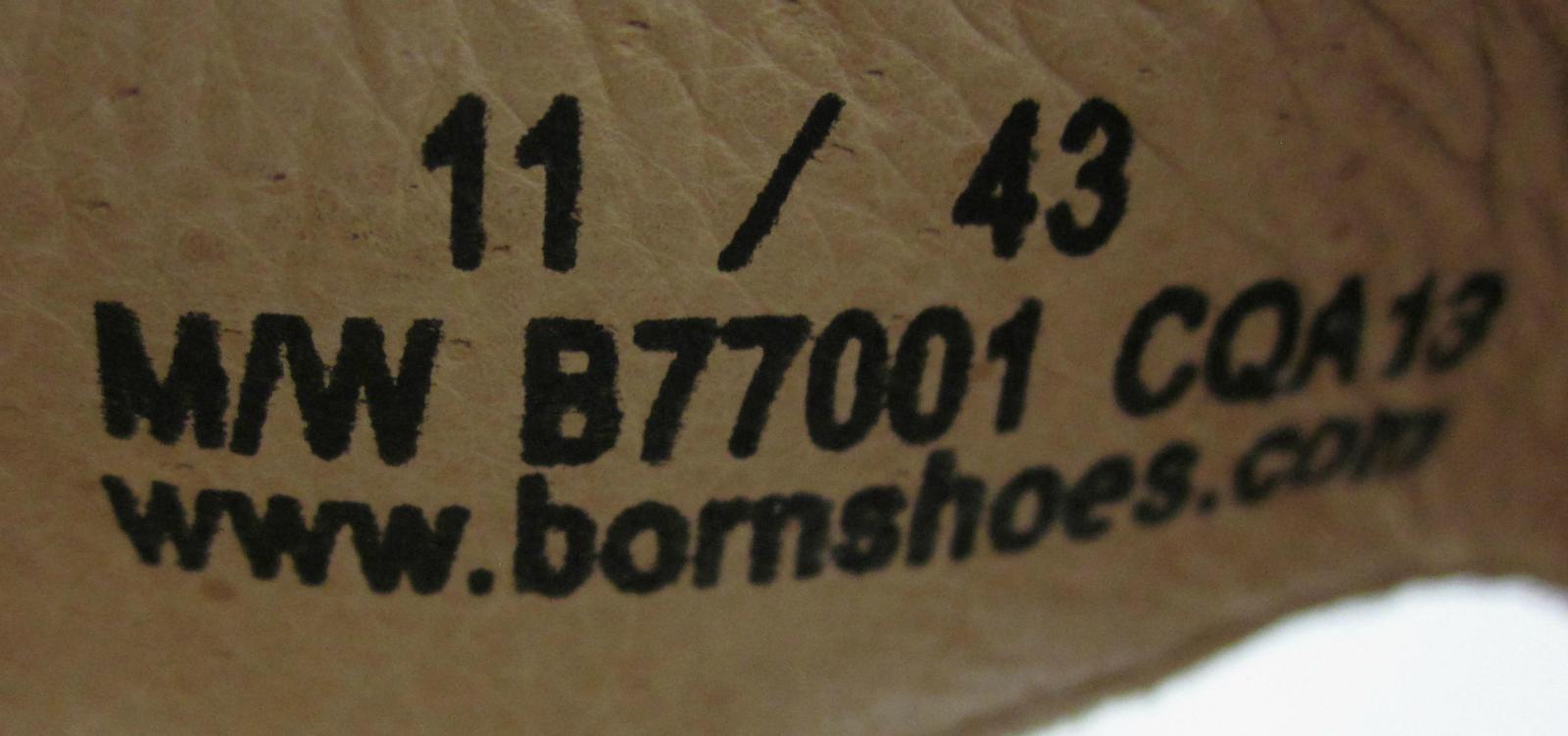 NEW  Born Kimona Floral Thong Sandals Cork Cork Cork Heel Bone White US 11 bf4074