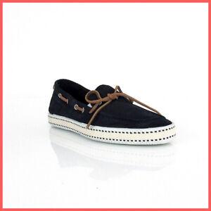 tienda garantía de alta calidad selección especial de Detalles de Frau Zapatos Mocasines Hombre 38c6 69 Terciopelo en Azul Verano  2019