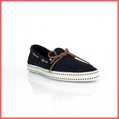 FRAU scarpe mocassino uomo 38C6 69 VELOUR colore BLU estate 2019   eBay