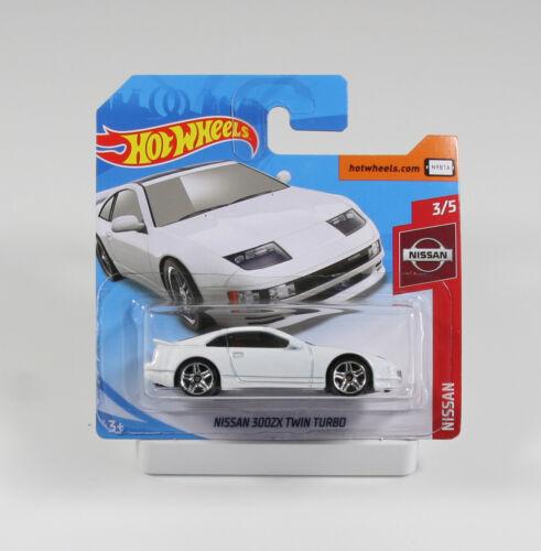 Nissan 300 ZX Twin Turbo weiß FYB73 1//64 Hot Wheels Nissan 2019