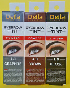 Natural Henna Eyebrow Eyelashes Tint Colour Black Brown Graphite Ebay