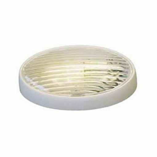Oval Porch Light without Switch for RV / Camper / Trailer / Motorhome
