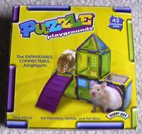 Super Pet Puzzle Kit Small Animal Playground Jungle Gym - 42 Pieces