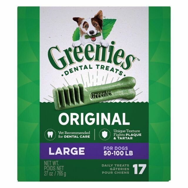 Greenies Original Large Dog Dental Treats - 27 oz 17 count
