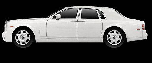 Wonderful modelcar Rolls Royce Phantom Sedan 2009 - english white - 1 43 - lim.