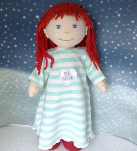 Kleidung Nachthemd mit Herz für Puppe 38 cm.Lotta,Souri,Amelie Neu Kleidung & Accessoires Babypuppen & Zubehör